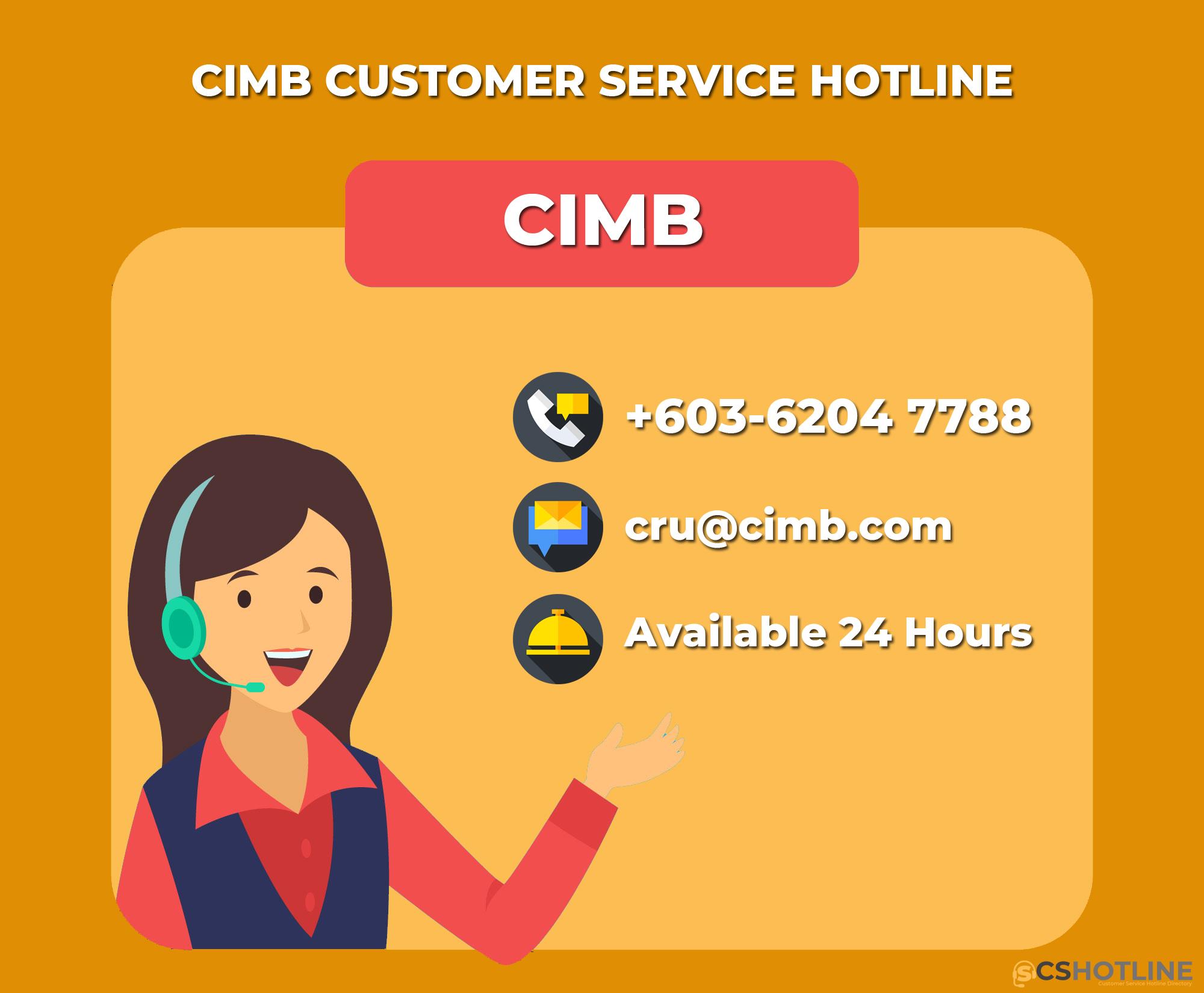 CIMB Customer Service Hotline