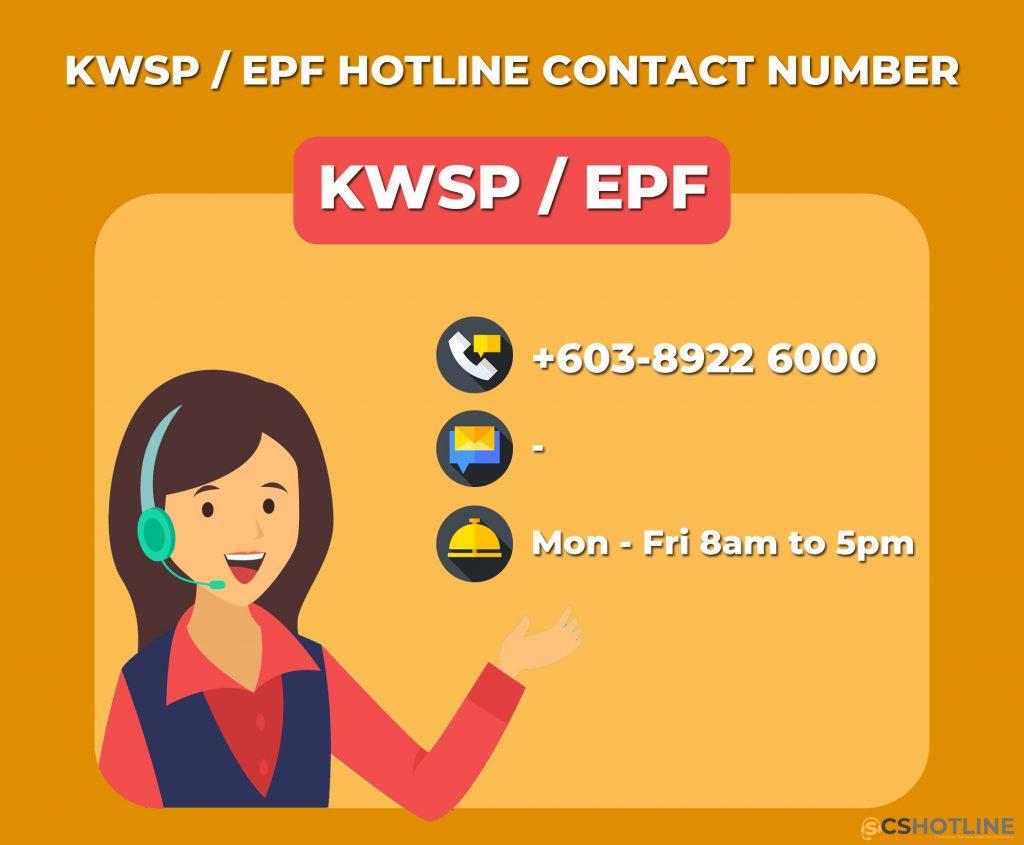 KWSP Hotline Customer Service