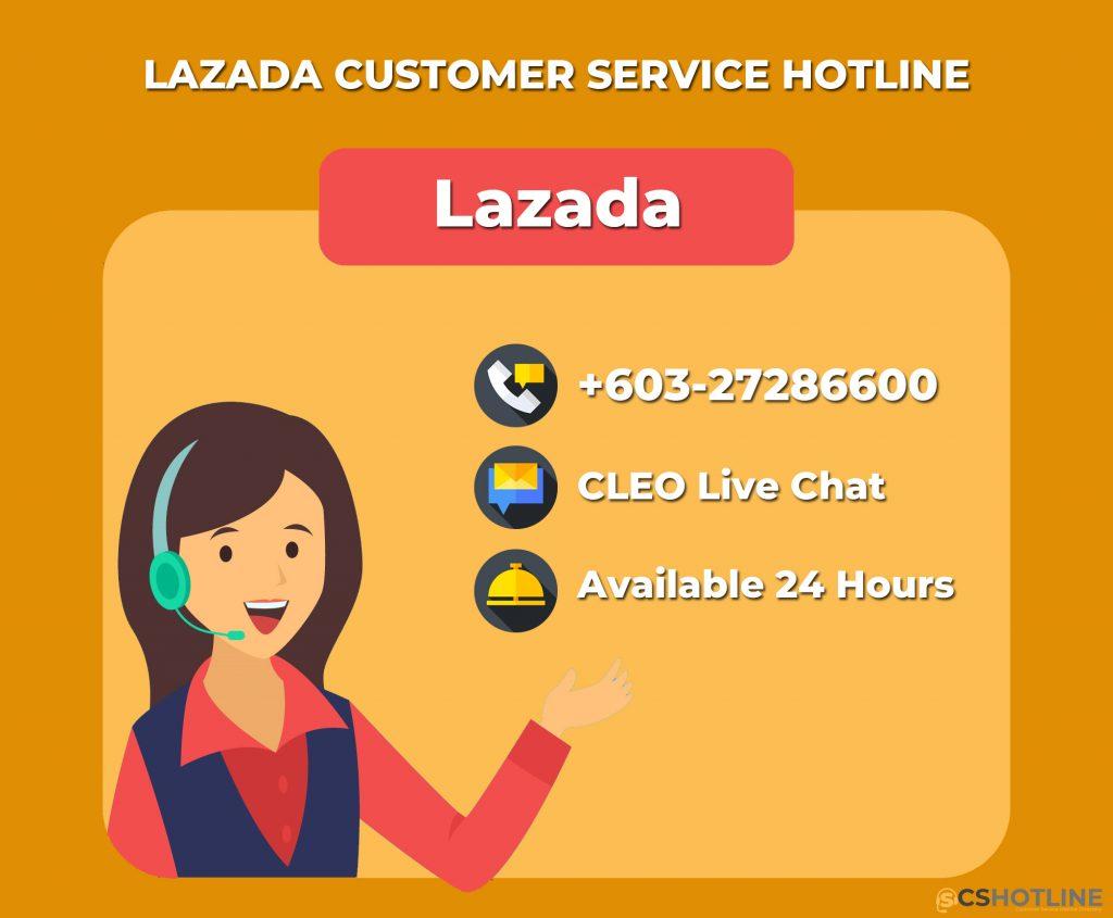 Lazada customer service