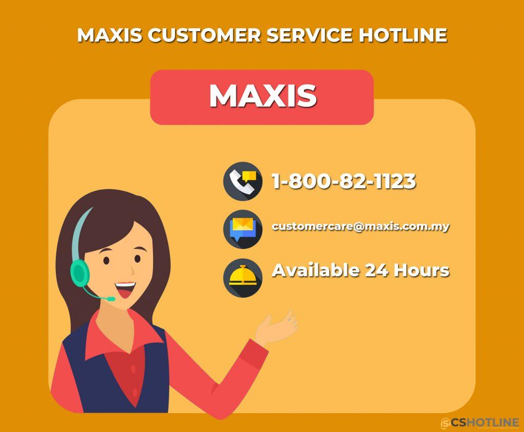 MAXIS Customer service hotline